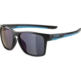 Alpina Flexxy Cool Kids I Glasses Kids, black/cyan/blue mirror